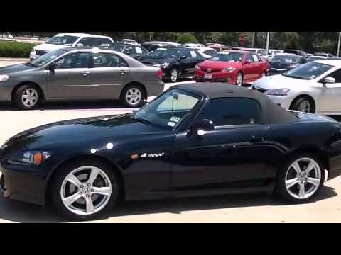 Honda S Richardson TX YouTube - 2008 s2000