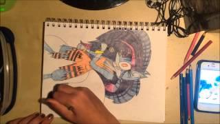 Jiji Speed-drawing