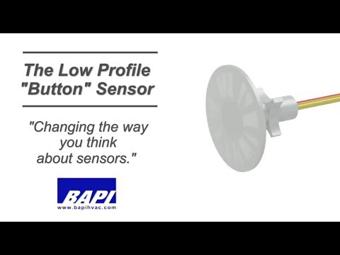 "Low Profile ""Button"" Sensor"