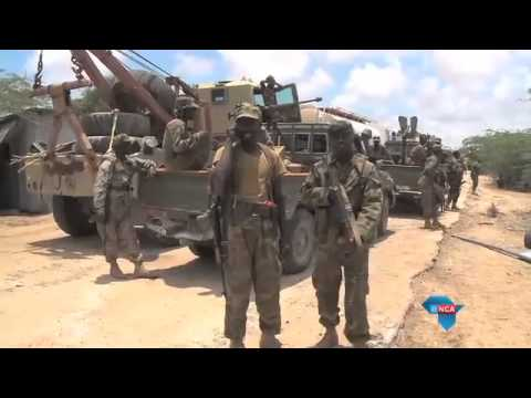 The African Union Mission set to take Barawe from Al Shabaab