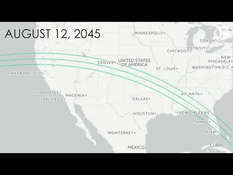 The Next 100 Years Of Total Solar Eclipses In The U.S.