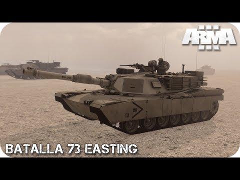 MISIÓN COOPERATIVA | BATALLA 73 EASTING | ArmA 3 Gameplay Español (1440p60 HD)