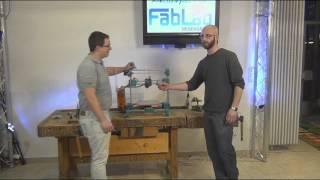 fabbster 3D Drucker: Extruderachse justieren (Quick&Dirty...) Thumbnail