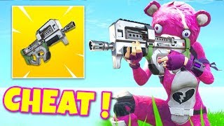 CECI is CHEAT! LEGEND ARME on FORTNITE Battle Royale!