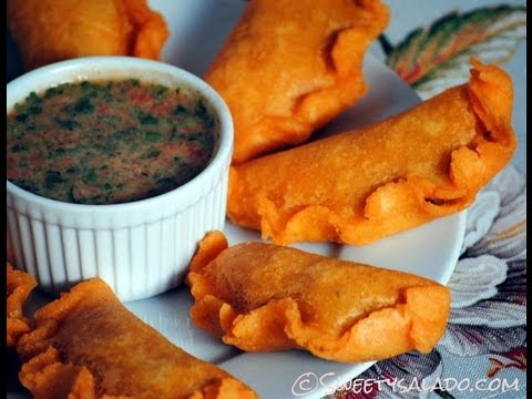 Colombian Empanadas Recipe - How To Make Colombian Empanadas (Turnovers) - Sweetysalado.com