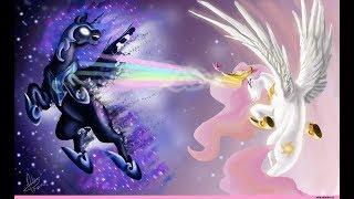 Война принцессы Луны с принцессой Селестией