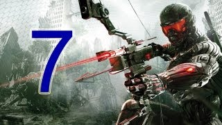 "Crysis 3 Walkthrough - part 7 let's play gameplay HD PS3 XBOX PC ""Crysis 3 walkthrough part 1"""