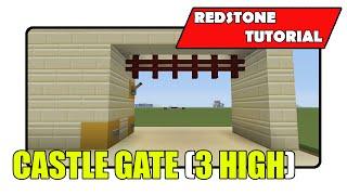 castle gate 3 high minecraft xbox tu23 cu11 playstation cl1 15