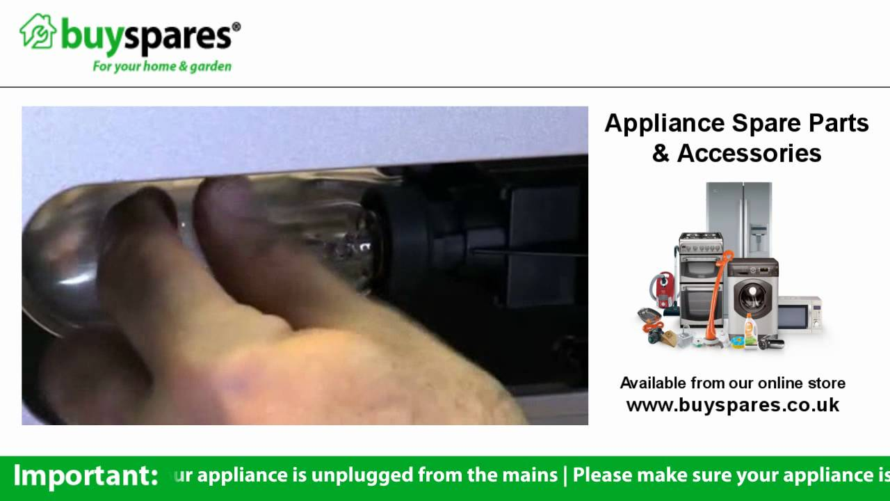 How To Replace The Lamp In A Cooker Hood Whirlpool Youtube Wiring Uk