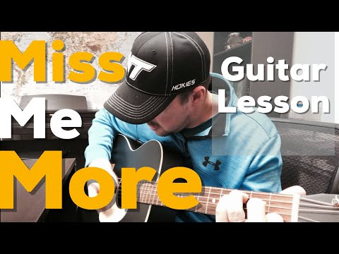 Miss Me More | Kelsea Ballerini | Beginner Guitar Lesson