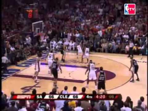 NBA Finals 2006-2007 - Game 4 - Cleveland Cavaliers vs San Antonio Spurs