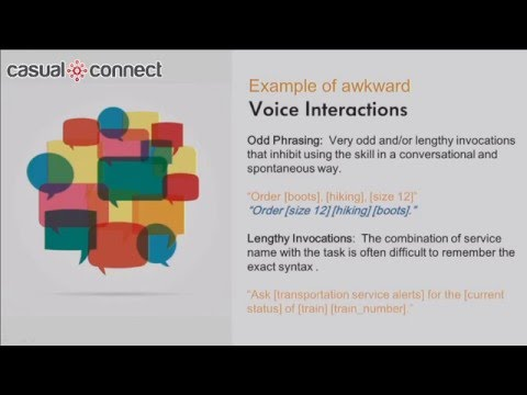 Voice Services – Speaking About the Next User Interface | Mike Hines