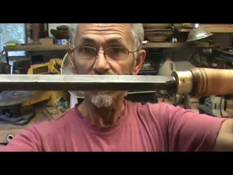 My Shop Made Wood Turning Tools By Al Furtado
