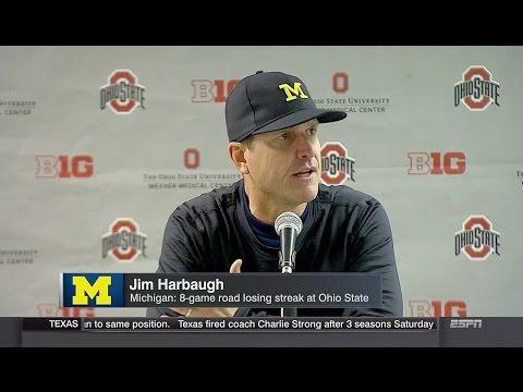 Ohio State Beats Michigan in 2OT, Harbaugh Mad