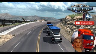 American Truck Simulator (1.32 Beta) First look and owner trailer + DLC's & Mods