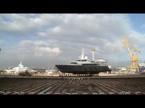 NAVANTIA Cartagena: Yachts repair and refit