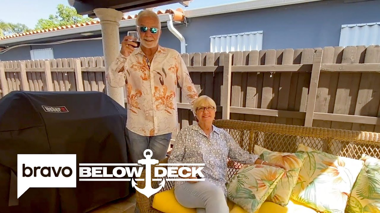 Captain Lee Gives a Full Tour of the House He Shares with Wife Mary-Anne | Below Deck