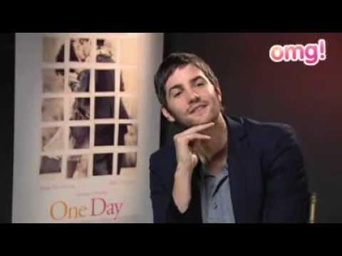 OMG! Yahoo Jim Sturgess nervous kissing Anne Hathaway