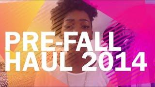 HAUL | Pre-Fall Haul 2014 Thumbnail