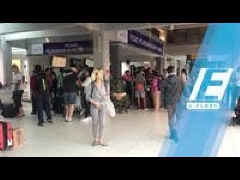 Kasihan! Banyak Wisatawan 'Terdampar' Terminal Mengwi Bali