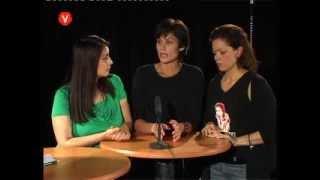 Gambar cover ÖKV Play - Vänstern i rutan med Anders, Zenia, Petra och Amalia.