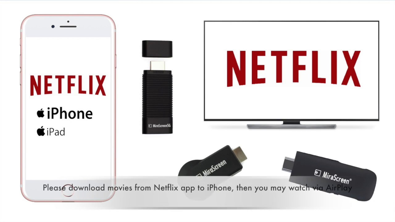 sports shoes 3b903 de5e1 How to watch Netflix via AirPlay or Miracast
