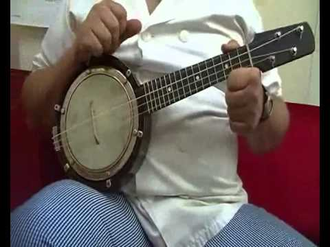 George Formby Ukulele Banjo Fan Stroke Split Stroke Youtube