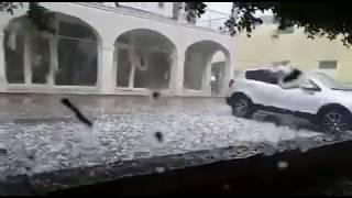 Grandinata a Castegnato (Brescia) - Agipress