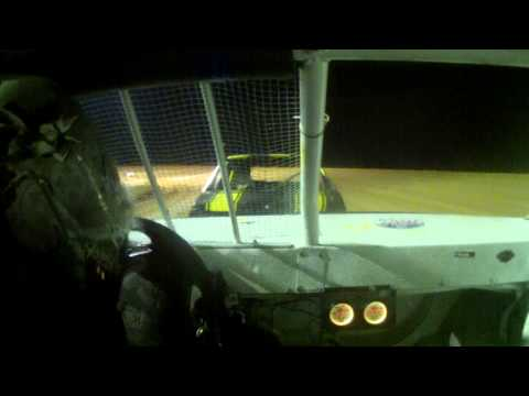 11 year old jordan fowler waycross motor speedway feature in car cam