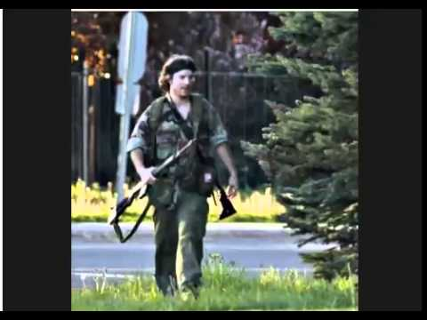 Shooting Manhunt in Moncton New Brunswick Canada 2 shot by Justin Bourque