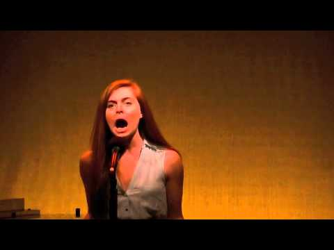 Brittany Dye singing 'The Life I Never Led'