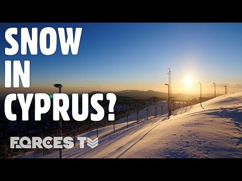 The Military Personnel Based On Cyprus' Highest Mountain Are FREEZING | Forces TV