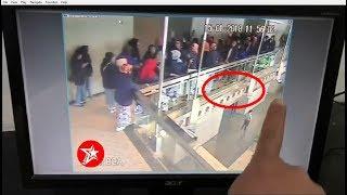 [HD] CCTV footage of BEI floor collapse