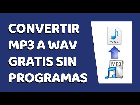 How to Convert MP3 to WAV Online Without Software 2018