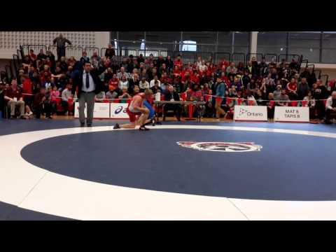 2015 Senior National Championships: 86 kg Matthew Miller vs. Joban Phulka