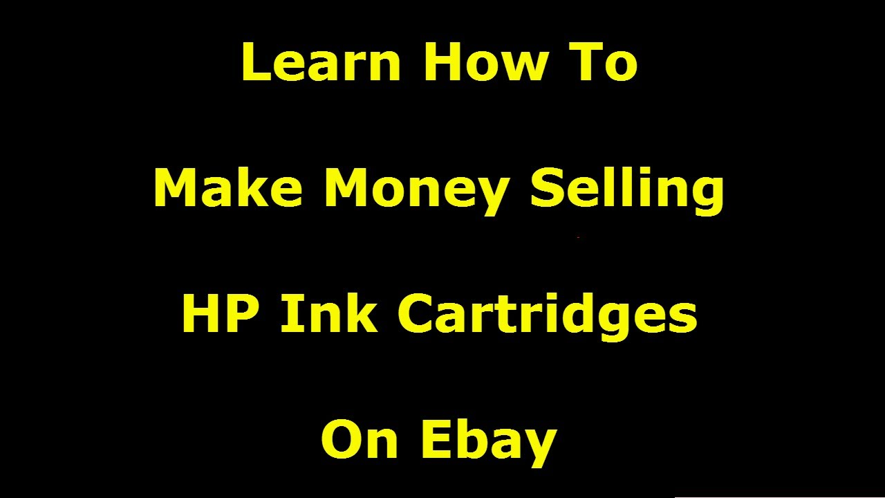 selling ink cartridges for profit goodwill haul phoenix picker youtube. Black Bedroom Furniture Sets. Home Design Ideas