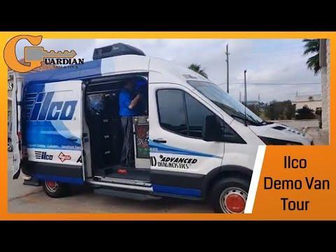 Touring The Ilco Demo Van   New Locksmith Tools!