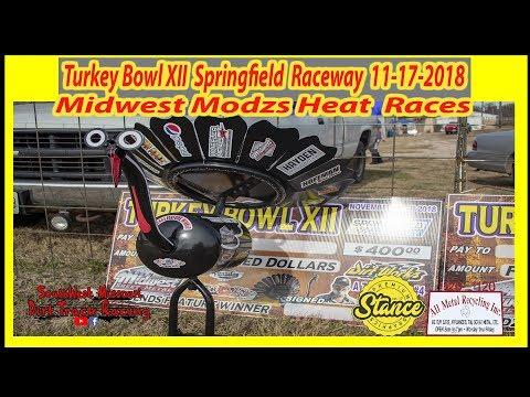 Midwest modzs - Heat Races - Turkey Bowl XII Springfield Raceway 11-17-2018