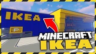 IKEA w MINECRAFT! - BUDUJEMY MIASTO