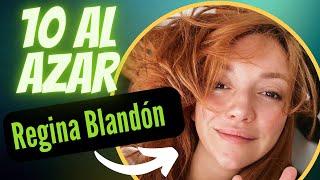 Regina Blandón en 10 AL AZAR