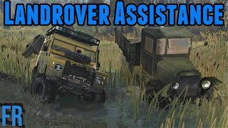Spintires: Mudrunner Landrover Assistance Required