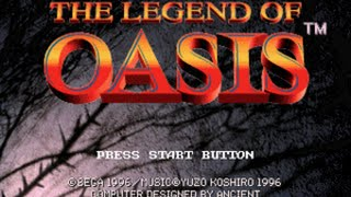 Sega Saturn Longplay [007] The Story of Thor 2 - Legend of Oasis (Part 1 of 4)