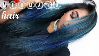 ALL ABOUT MY MERMAID HAIR | HOW TO MAINTAIN & ACHIEVE TEAL HAIR and BLUE HAIR