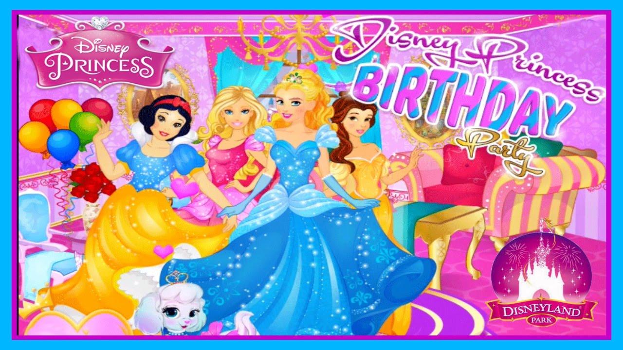 Cinderella's Birthday Party Cute Video