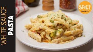 হোয়াইট সস পাস্তা  White Sauce Pasta Recipe   Pasta Recipe Bangla   How to Make Pasta
