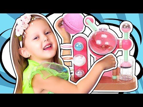 LOL Fizz Factory Фабрика по производству Бомбочек для ванны с сюрпризом ЛОЛ Своими Руками