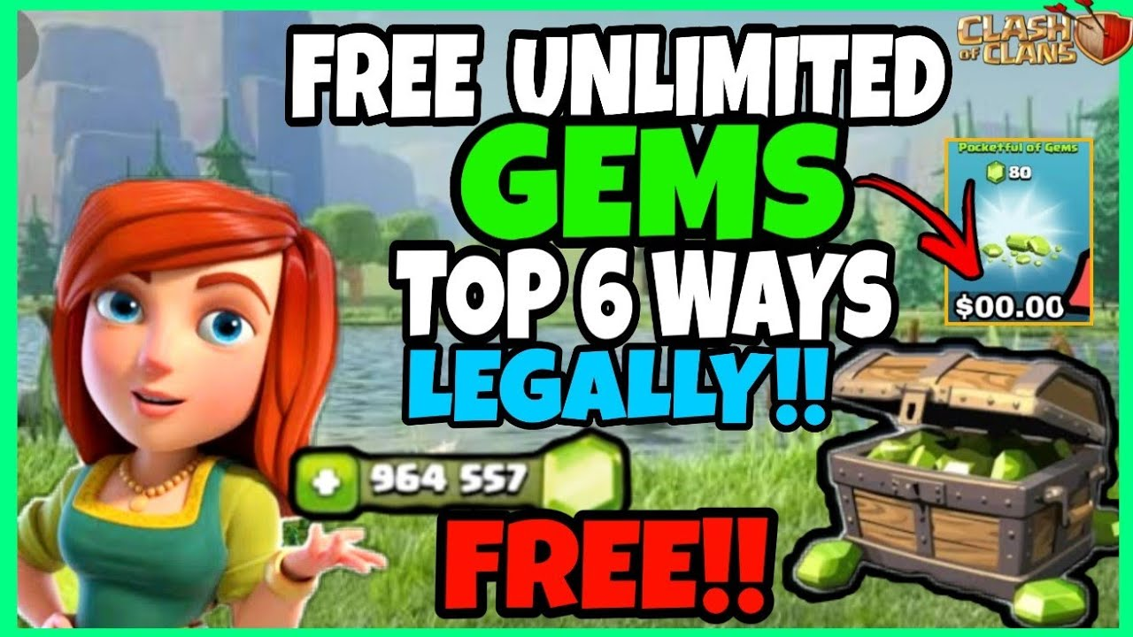Download Free Gems On Clash Of Clans 2020 Pics