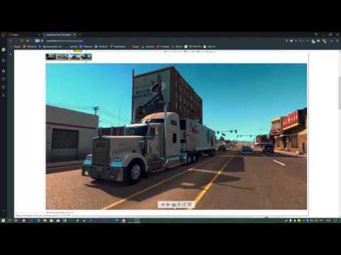 American Truck Simulator (2016) [Ru/Multi] (1.36.1.18s/dlc)