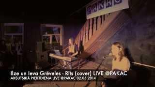 Ilze un Ieva Grēveles - Rīts (cover) (LIVE @PAKAC 02.05.2014) AKSUTISKĀ PIEKTDIENA