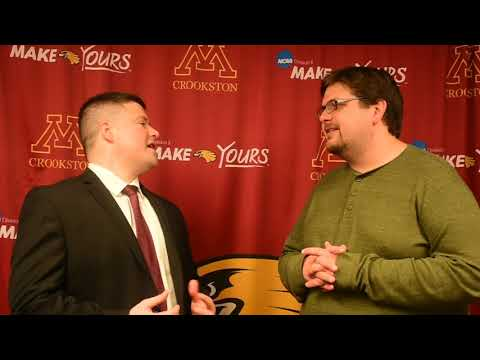 Post-Game Interview with Coach Dan Weisse (vs. Minnesota Duluth, 12/2/17)